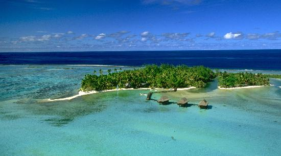 Vahine Island Resort : Vue aérienne - Overwiew