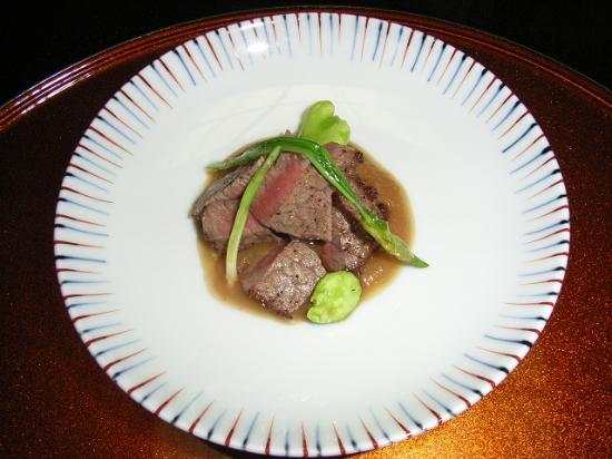 Ichiitei : Roasted fillet of beef