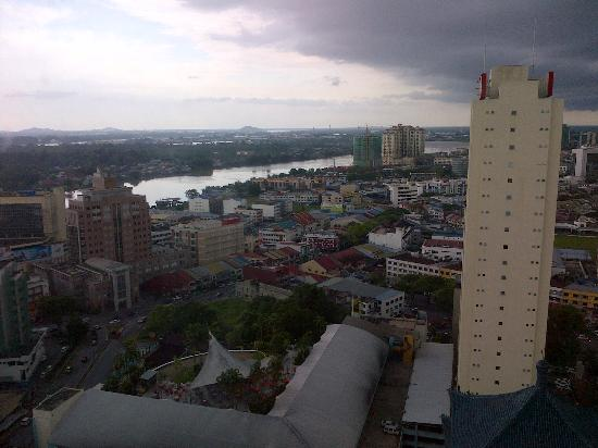 A view of Kuching from the Top Floors