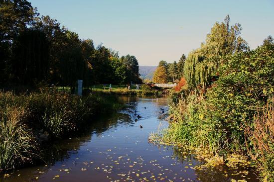 Bad Pyrmont Kurpark: Malerblick