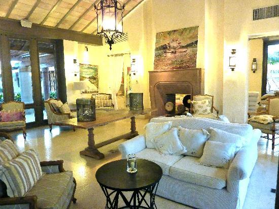 The St. Regis Punta Mita Resort: Lobby living room--as if ripped from the pages of Coastal Living.