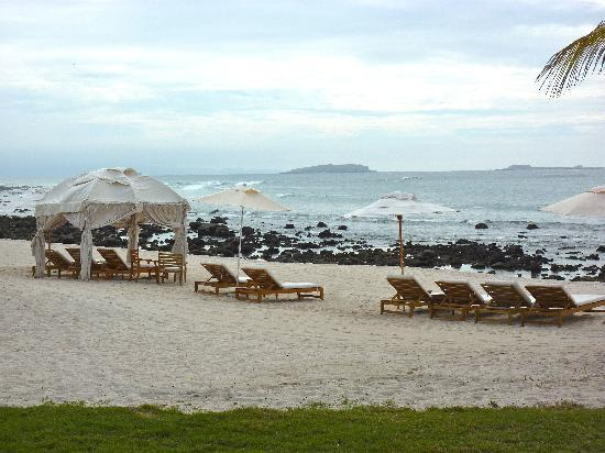 The St. Regis Punta Mita Resort: Beach is very rocky.