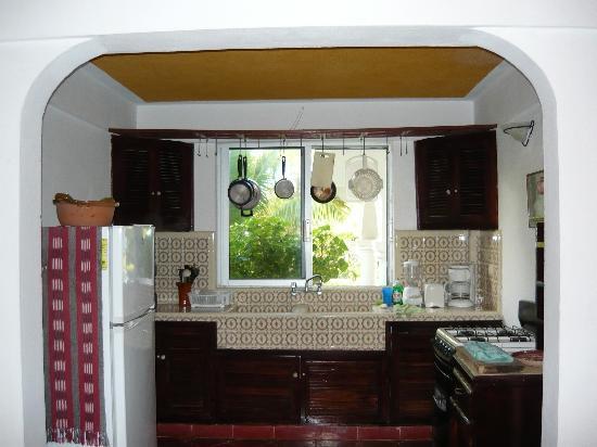 Villas Punta Sur: kitchen