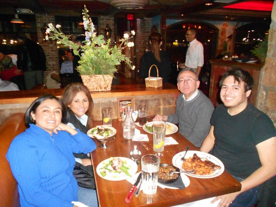 Saltgrass Steak House: Sharing with great friends