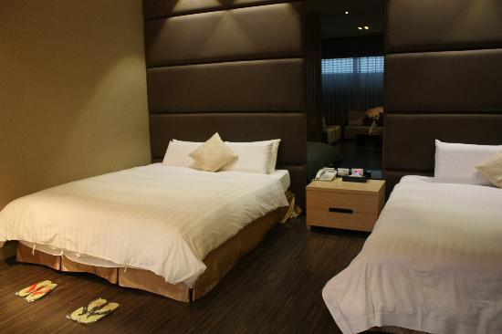 The Sun Hot Spring Resort: comfortable beds
