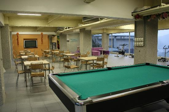 The Sun Hot Spring Resort: activities room