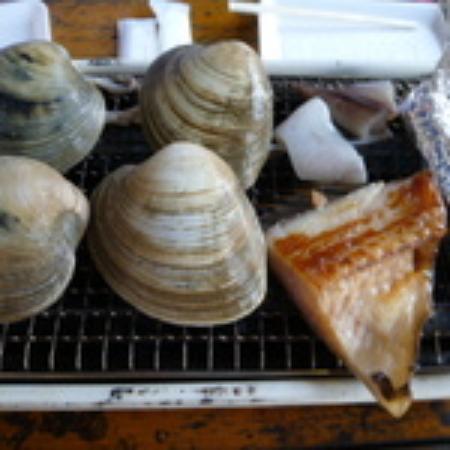 Odawara Fish Center: ハマグリと魚