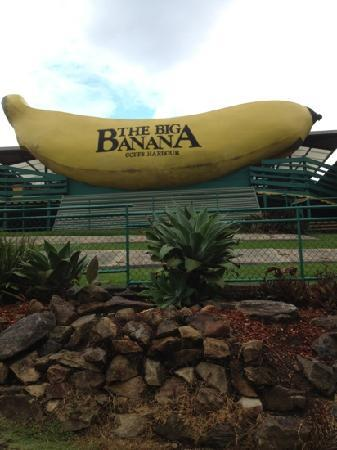 The Big Banana: out front