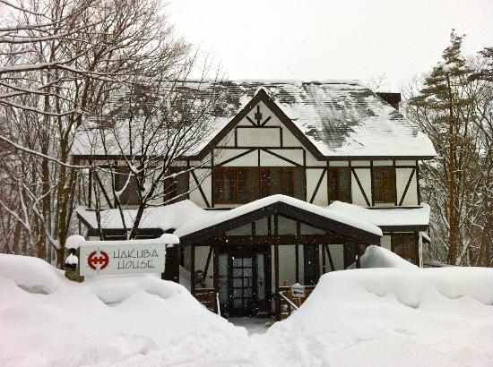 Hakuba House: Front.