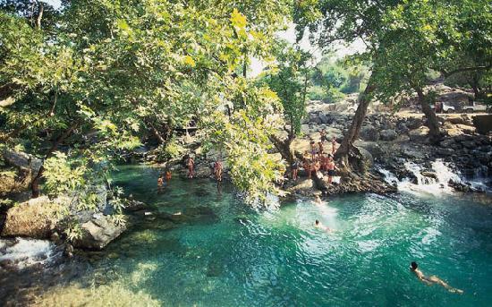 Bilgin Hotel: Turquoize waters
