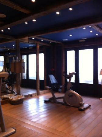 Les Suites du Nevada - Maison Bouvier : salle de cardio training