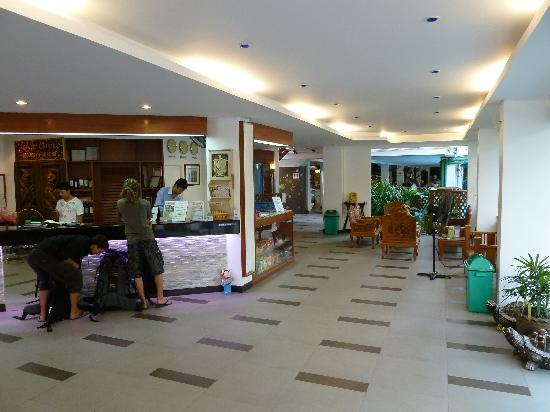 New Siam Guest House II: Ground floor