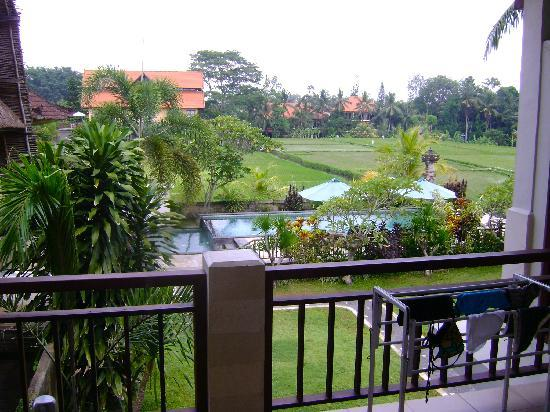 Nyoman Karsa Bungalows: view from balcony room 7