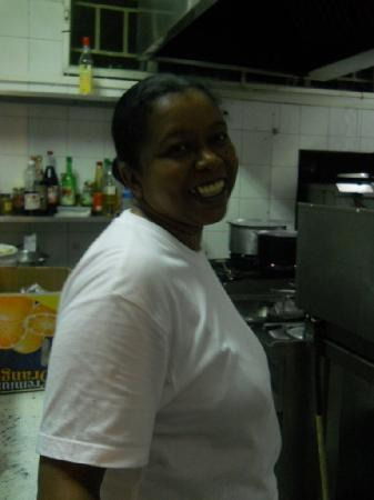 Pointe d'Esny: Edwige, Head Cook
