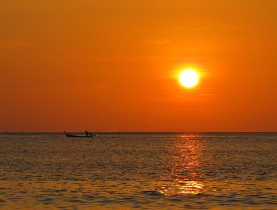 Lanta Villa Resort : Sunset