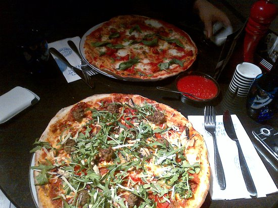 Pizza Express At Cardiff Bay Pizza Express Cardiff
