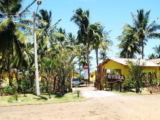 Coruripe, AL: Entrance of the bungalows