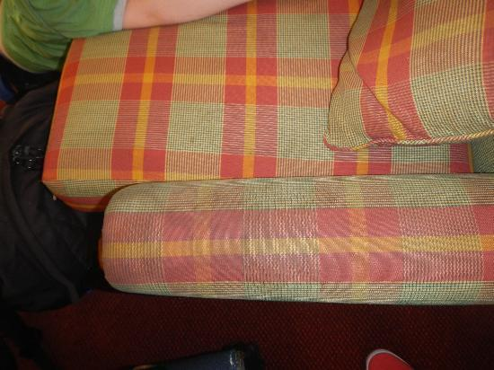 Country Comfort Armidale: Stains on sofa