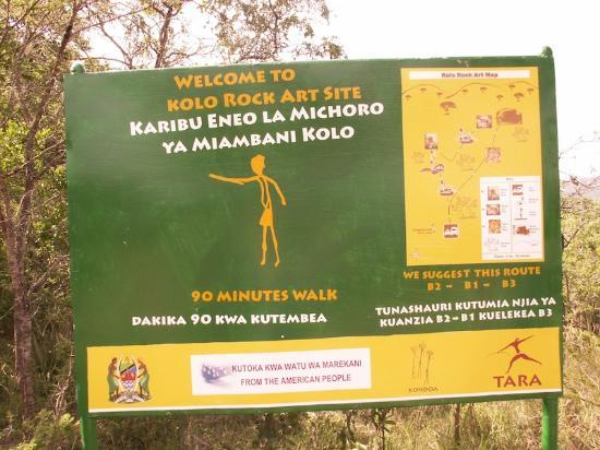 Kondoa Rock-Art Sites: New signs courtesy of the USof A