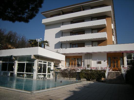 Millepini Terme Hotel: Vista Hotel dalla piscina