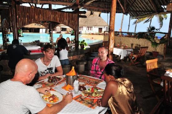 Reef Hotel : Tanga grill