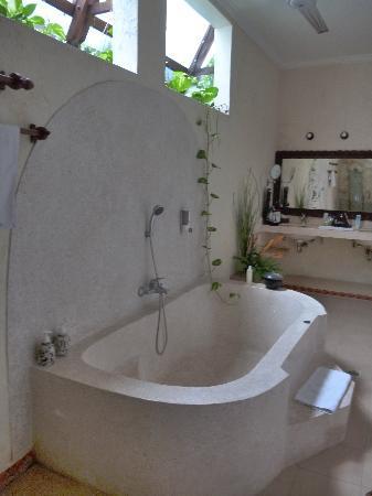 The Kozy Villas: spacious airy bathroom