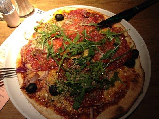 Pastafabrikken: pizza