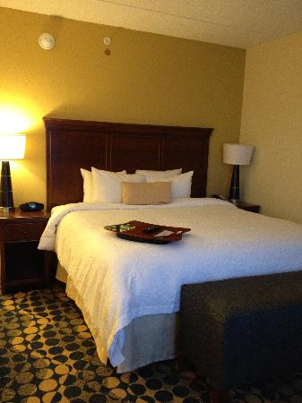 Hampton Inn & Suites Durham North I-85: Bedroom