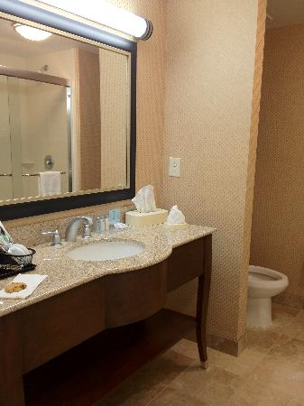 Hampton Inn & Suites Durham North I-85: Bathroom