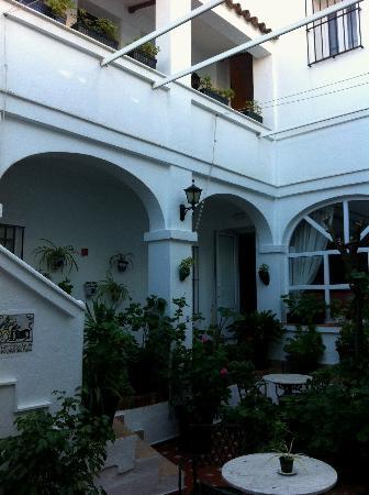 Hotel Los Olivos: Courtyard