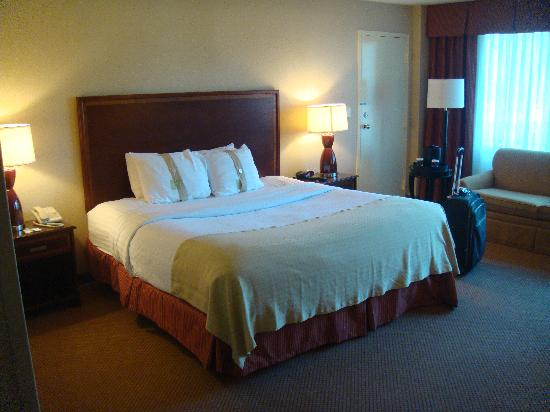 Holiday Inn Secaucus Meadowlands: Big King size bed
