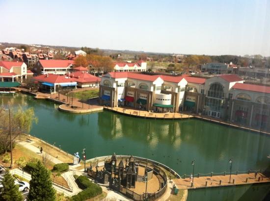 Hilton Charlotte University Place: vista desde el hotel