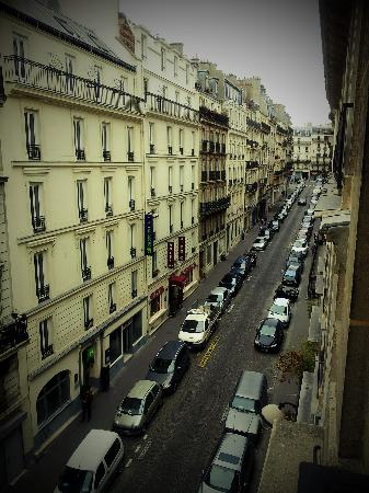 Relais du Pré: View from the room