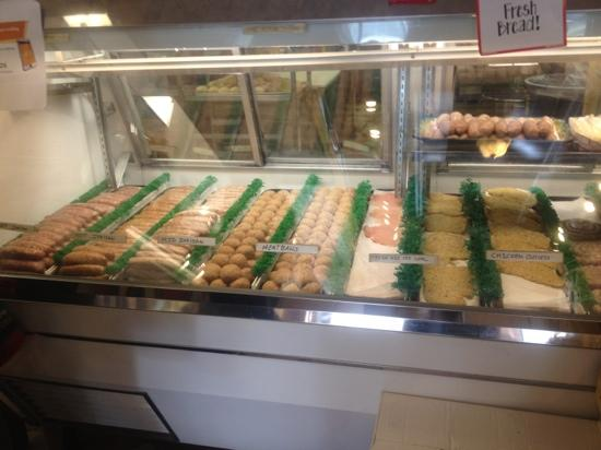 Giacomo's Italian Market: Sausages, meatballs, chicken cutlets, etc.!