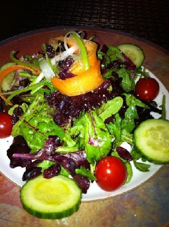 Caruso's Tuscan Cuisine: salad
