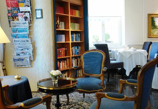 Hotel Sunnehus: Bibliothek / library
