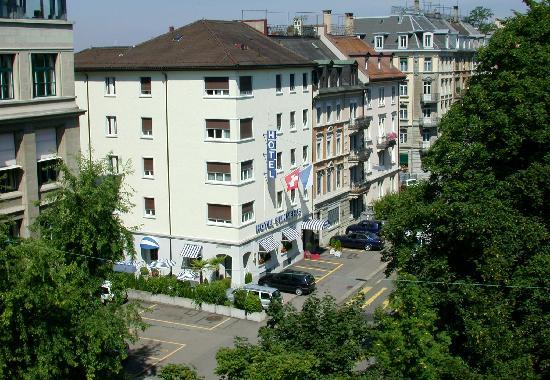 Hotel Sunnehus: Blick von aussen / View from outside