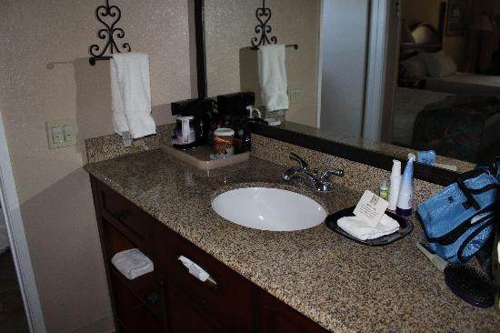 Casa Ojai Inn: Sink Area