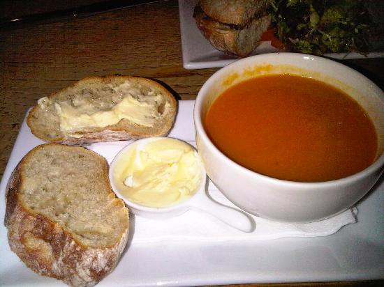 Blue Ball Inn: soup