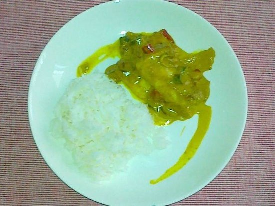 Sanctuary Restaurant: Red Snapper Curry