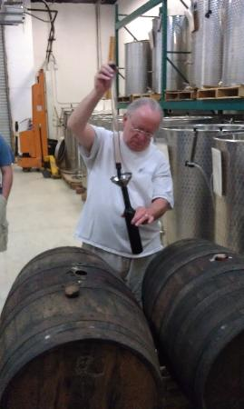 Murielle Winery : Port out of the barrell