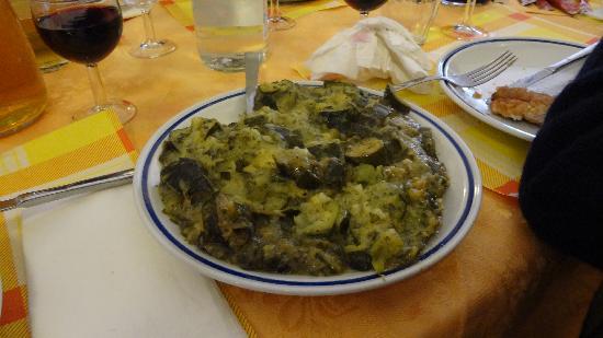 """Trattoria Da Gianni : """"Zucchine in tecia"""""""