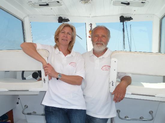 """Hippocampus Sea Services: Susan & Mauro """"GLI"""" Hippocampus"""