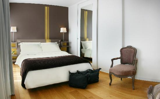 Hotel Itsas Mendia : Chambre Classique Balcon