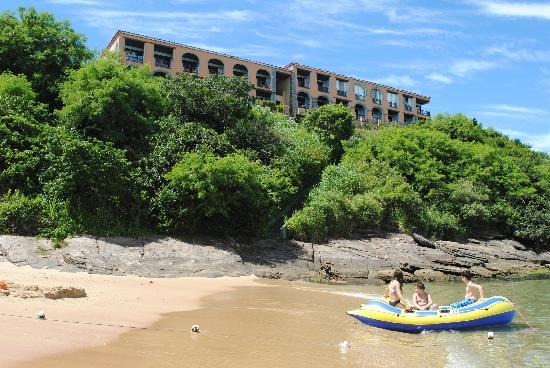 Colonna Park Hotel: El hotel desde Joao Fernandinho