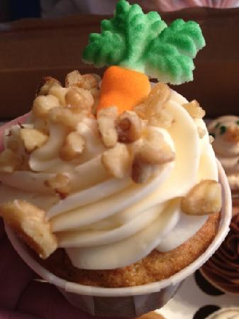 CupCapes of Falmouth: Carrot Cake Cupcake
