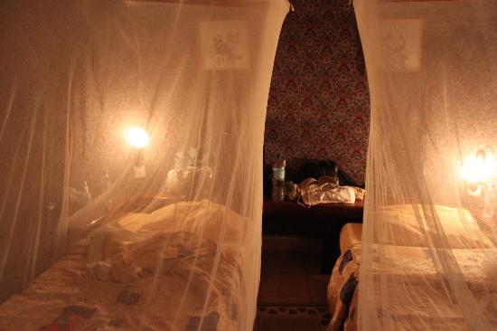 Momella Wildlife Lodge: Mosquito nets