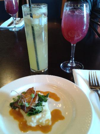 Greenville, Güney Carolina: Tasting at Soby's New South restaurant