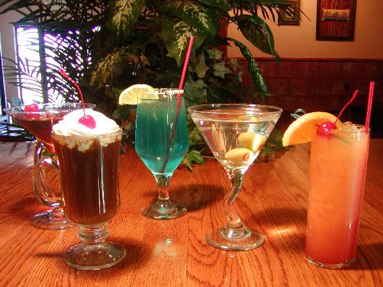 Ivory Tusk Tavern and Restaurant: Special Customized Cocktails!