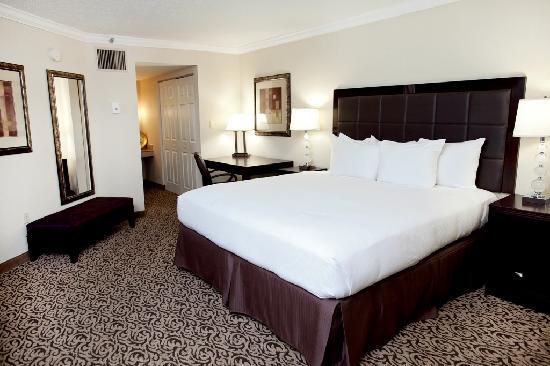 Hilton Greenville: Presidential Suite King Bedroom